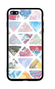 För Mönster fodral Skal fodral Geometriska mönster Hårt Akrylfiber för AppleiPhone 7 Plus iPhone 7 iPhone 6s Plus/6 Plus iPhone 6s/6