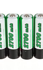 Soshine 2PCS RCR123 16340 Battery 700mAh 3.7V Rechargeable Lithium Li-ion Battery  with Battery Case Storage Box Set