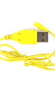 FQ777 FQ777 FQ777-124-8 Cabo USB RC Quadrotor Plástico 1 Peça
