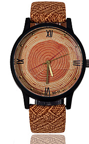 Masculino Mulheres Infantil Casal Unissex Relógio Esportivo Relógio Elegante Relógio de Moda Relógio de Pulso Relógio Madeira / Quartzo