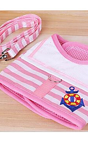 Собаки Поводки Регулируется/Выдвижной Безопасность Тренировки геометрический Красный Синий Розовый Ткань