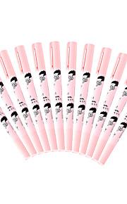 rosa blekk highlighters 1 sett med 12 stk