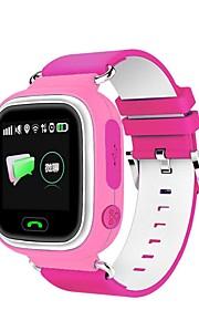 gps yyq523 assistir posicionamento touch screen relógio inteligente crianças sos dispositivo localizador chamada anti lembrete perdido