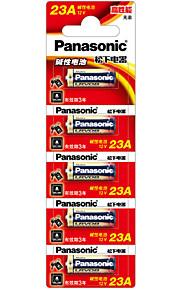 Panasonic LRV08L/1B5C 23A 12V Alkaline Battery 5 Pack