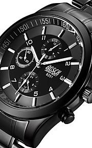 Masculino Infantil Relógio Esportivo Relógio Militar Relógio Elegante Relógio de Moda Relógio de Pulso Quartzo Punk Aço Inoxidável Banda