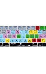 xskn® Premiere Pro cc scorciatoia da tastiera in silicone pelle e protettore touchbar per il 2016 nuovi MacBook Pro 13.3 / 15.4 con touch