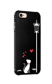 För Stötsäker Mönster fodral Skal fodral Katt Mjukt Silikon för AppleiPhone 7 Plus iPhone 7 iPhone 6s Plus iPhone 6 Plus iPhone 6s iPhone