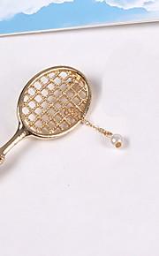 Brocher Imiteret Perle Legering Imiteret Perle Gul Guld Vintage Euro-Amerikansk Smykker Daglig Afslappet