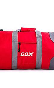GOX Travel Bag for Unisex Travel Storage Fabric-Gray Red Blue