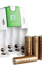 fb fb-18 aa NiMH oplaadbare batterij 1.2V 2800mAh 4 stuks