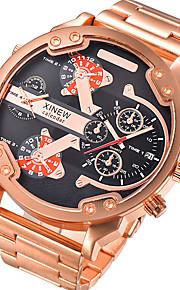 Masculino Infantil Relógio Esportivo Relógio Militar Relógio Elegante Relógio de Moda Relógio de Pulso QuartzoCalendário Dois Fusos