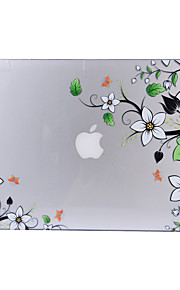 för macbook air 11,6 13,3 pro 13,3 näthinnan fallet täcker med blommönster pc hårt skyddande skal matt genomskinlig