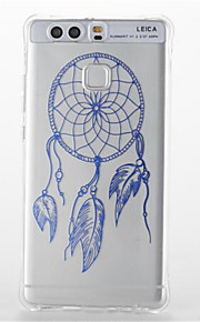 For  Huawei P9/P9 Lite Shockproof Transparent Pattern Case Back Cover Case Dream Catcher Soft TPU  Huawei P8 Lite