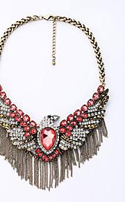 Dame Halskæder Vinger / Fjer Mode Personaliseret Euro-Amerikansk Rød Smykker For 1 Stk.