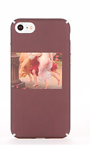 Voor Patroon hoesje Achterkantje hoesje Sexy dame Hard PC voor AppleiPhone 7 Plus iPhone 7 iPhone 6s Plus iPhone 6 Plus iPhone 6s Iphone