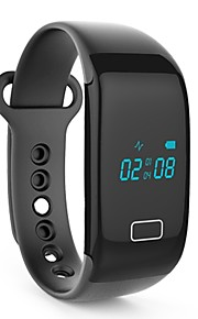 Smart armbåndVandafvisende Lang Standby Brændte kalorier Skridttællere Træningslog Sundhedspleje Pulsmåler Touch Screen Påførelig Kreativ