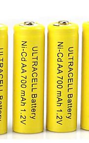 HBB AA Nickel Cadmium Rechargeable Battery 1.2V 400mAh 20 Pack