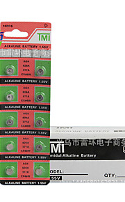 TMI AG4 Coin & Button Cell Cardon Zinc Battery 1.55V 20 Pack