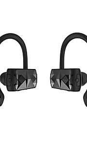 Bezprzewodowe słuchawki Bluetooth v4.2 wzmocniona słuchawka przenośna obustronne prowadzenie sportu słuchawek wbudowany mikrofon dla