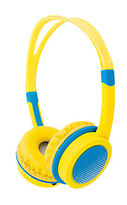 di'tmo의 DM-2720 헤드 밴드 chlidren 헤드폰 아이는 보호 3.5mm의 헤드셋을 유선 청각