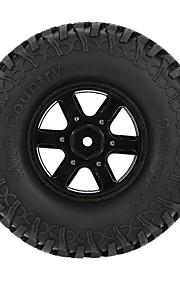 Geral RC Tire Pneu RC Carros / Buggy / Caminhões Metal Lega