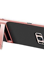 Per Resistente agli urti Con supporto Custodia Custodia posteriore Custodia Tinta unita Resistente PC per Samsung S8 S8 Plus