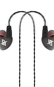 100% zmodernizowane auglamour R8 w ucho słuchawka hak metalowe słuchawki douszne uaktualnić złoto HiFi słuchawki Słuchawki DIY