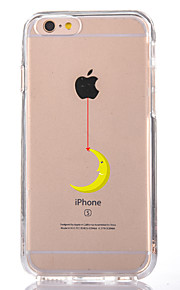 För Genomskinlig Mönster fodral Skal fodral Leka med Apple-loggan Mjukt TPU för AppleiPhone 7 Plus iPhone 7 iPhone 6s Plus iPhone 6 Plus
