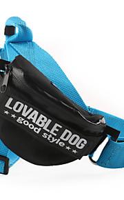 Hundar Selar Justerbara/Infällbar Solid Nylon Svart Röd Blå