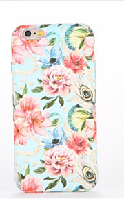 For Embossed Pattern Case Back Cover Case Flower Hard PC for Apple iPhone 7 Plus iPhone 7 iPhone 6s Plus iPhone 6 Plus iPhone 6s iPhone 6