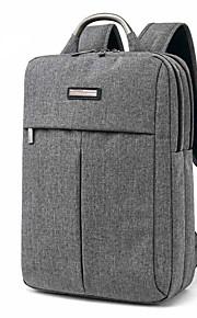 TUGUAN 15.6 Inch Laptop Bags Snowflake Cloth Square Style Computer Shoulder Bag Aluminum Alloy Handle Corrosion Resistance for Men