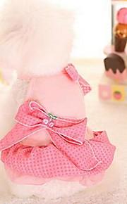 Hunde Kleider Hundekleidung Niedlich Modisch Prinzessin Purpur Blau Rosa