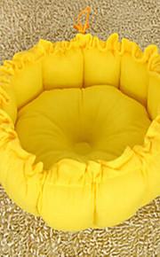 Asiento de coche para perros&Almohadillas portátil de doble cara transpirable plegable masaje suave azul verde amarillo