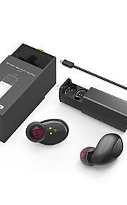 Gemelos mini bluetooth estéreo sin hilos 4.1 auricular del bluetooth auricular sin manos con la caja de carga earbuds del muelle