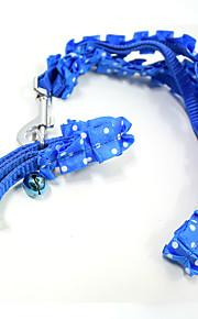 Merletto del merletto di modo pet trazione corda del cane del collare di cane del gatto accessori dell'animale domestico dell'animale