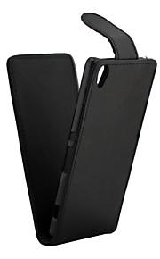 För Sony Xperia e5 xperia x prestanda fallskydd kristallkorn pu läder flip upp och ner xperia xa xperia x