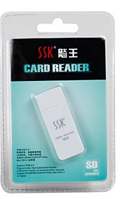 SSK SD Card USB 2.0 Kaartlezer