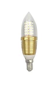 9W E14 E26/E27 LEDコーン型電球 C35 60 SMD 2835 850 lm 温白色 ホワイト V 1個