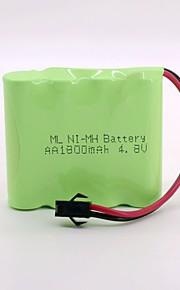 Батарея ni-mh 1800mah aa 4.8v