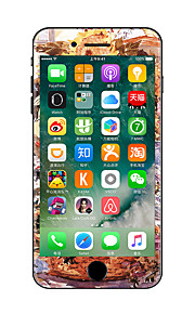 1 pezzo Anti-graffi Fiore decorativo Di plastica trasparente Decalcomanie Fosforescente A fantasia PeriPhone 7 Plus iPhone 7 iPhone 6s
