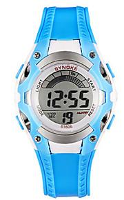 Masculino Relógio de Moda Digital PU Banda Azul