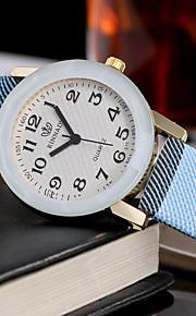 בגדי ריקוד נשים לנשים שעוני אופנה שעון יד ייחודי Creative צפה שעונים יום יומיים קווארץ עור להקה מזל מגניב יום יומי יצירתי יוקרתי אלגנטי