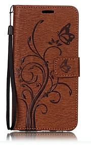 Para la cubierta del caso de nokia nokia 6 las cajas de cuero pu de grabado