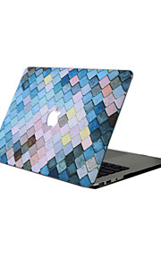 MacBook Case For New MacBook Pro 13 15 Air 11 13 Pro Retina 13 15 Macbook 12 Case Cover PVC Material Oil Painting Geometric Pattern