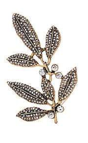 Dame Brocher Venskab Sidelæns Euro-Amerikansk Legering Smykker For Bryllup Fest