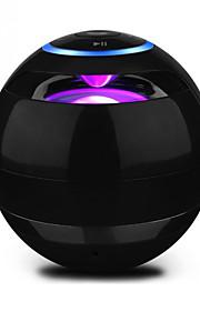 Sans Fil haut-parleurs sans fil Bluetooth Portable Extérieur Stereo Son surround Bult-in mic Eclairage LED Support de carte mémoire