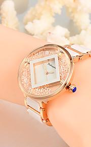 Feihongda Women's Fashion Wrist watch Unique Creative Watch Casual Quartz Alloy Plastic Band Charm Luxury Elegant Cool Watches