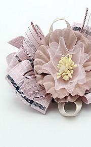Cuello Suministros DIY Plegable Ajustable Flor Tela de Encaje Tejido
