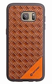 עבור Samsung galaxy s8 s8 בתוספת מקרה כיסוי כרטיס מחזיק חזרה מקרה במקרה מוצק צבע קשה pu עור עבור סמסונג גלקסי s7 s7 קצה s6 s6 קצה