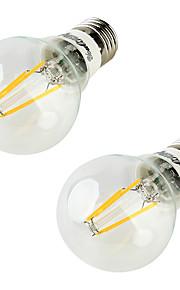 5W LED-globepærer 4 COB 400 lm Varm hvit AC 85-265 V